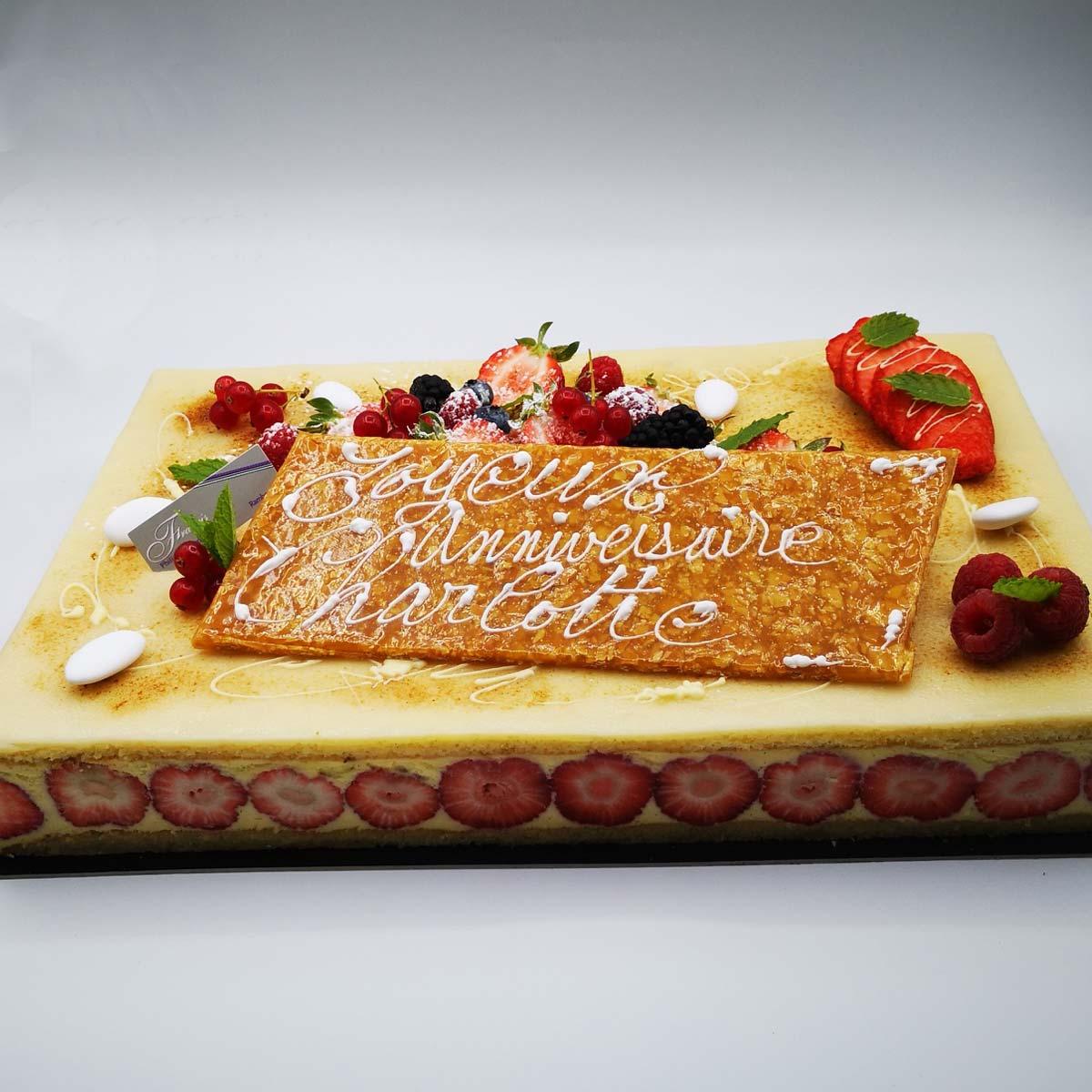 Gâteau d'anniversaire à Rambouillet